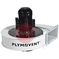 0000100308 Plymovent FUA-4700 Extraction Fan 2,2kW, rectangular outlet, 230 - 400v 3ph