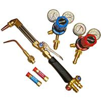0385-0550 Victor G250 Medalist Standard Cutting & Welding Outfit, with Bottom Entry Oxy & Acetylene Regulators