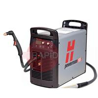 059404 Hypertherm Powermax 105 Plasma Cutter, Value System with CPC Port, 75 degree Hand and 180 degree Machine Torches (7.5m), 3Ph 230 - 400V CE