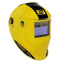 0700000401 ESAB Warrior Tech Welding Helmet Yellow, Shade 9 - 13
