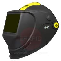 0700000440 ESAB G40 Air Weld / Grind Helmet with 110 x 90mm Shade #10 Passive Lens