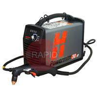 088082 Hypertherm Powermax 30 XP Plasma Cutter with 4.5m torch, Dual Voltage 110v & 240v CE