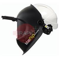 1006.750 Optrel Liteflip Autopilot Welding Helmet, with Hard Hat - Shade 5 - 14