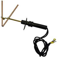 10331 Carbon Arc Brazing Torch With 1000mm x 6mm sq connection cable. Electrodes not included.