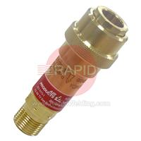 124524 Air Products Integra Flashback Arrestor. Quick Connect Acetylene.