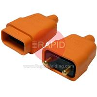 175GB004 BINZEL DURA PLUG ORANGE 2 PIN