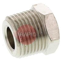 367-5663 KEMPPI STRAIGHT ADAPTOR 3/8-1/4 RH