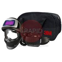 3M-547715 3M Speedglas 9100X FX Air Welding Helmet with New Adflo Powered Air Respirator, 5/8/9-13 Variable Shade, 54mm x 107mm Lens Viewing Area