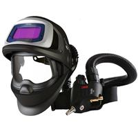 3M-548815 3M Speedglas 9100X FX Air Welding Sheild with 3M Versaflo V500E Regulator, 5/8/9-13 Variable Shade, 54mm x 107mm Lens Viewing Area