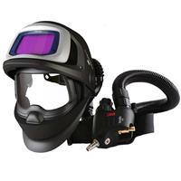 3M-548825 3M Speedglas 9100XX FX Air Welding Shield with 3M Versaflo V500E Regulator, 5/8/9-13 Variable Shade, 73mm x 107mm Lens Viewing Area
