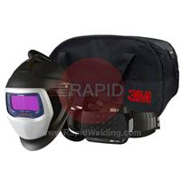 3M-567726 3M Speedglas 9100XXi Air Welding Helmet with New Adlfo Powered Air Respirator, 5/8/9-13 Variable Shade