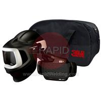 3M-577700 3M Speedglas 9100 MP Welding Helmet with New Adflo Powered Air Respirator, No Lens 37-1101-00SW
