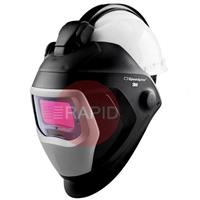 3M-583615 3M Speedglas 9100-QR X Auto Darkening Welding Helmet with H-701 Safety Helmet 06-0100-20QR