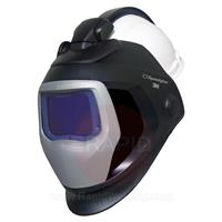 3M-583626 3M Speedglas 9100-QR XXi Auto Darkening Welding Helmet with H701 Safety Helmet