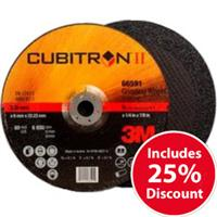 3M-65403 3M Cubitron II 180mm (7 Inch) Grinding Disc DPC (Pack of 10)