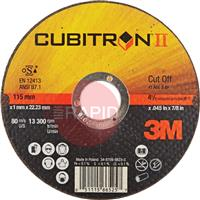 3M-65455 3M Cubitron II 125mm (5 Inch) x 1.6mm Cutting Disc
