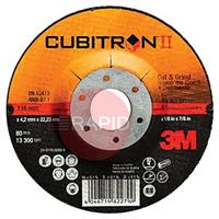3M-81148 3M Cubitron II 180mm (7 Inch) Cut & Grind Disc