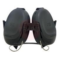 3M-H505B 3M Peltor Earmuffs, with Neckband and 2x Replacement Cushions - EN 352-1:2002