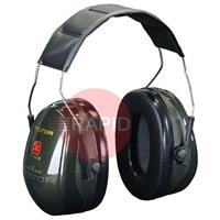 3MH520A407GQ 3M Peltor Optime II Earmuffs, 31 dB - EN 352-1:1993