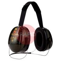 3MH520B408GQ 3M Peltor Optime II Earmuffs with Neckband, 31 dB - EN 352-1:1993