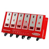 4.010.089 Fronius Acctiva Multicharger 06 Battery Charging System, 6 x 12V / 6 x 6A, including 2m Charging Leads
