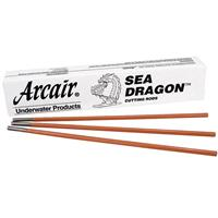 42-075-005 Arcair Sea Dragon 9.5mm Underwater Cutting Electrodes Exothermic Box of 50
