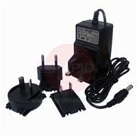 4551.070 Optrel e3000/e3000X Battery Charger - UK, EU, US, AUS Plugs Included