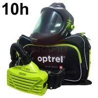 4900.202.G Optrel Clearmaxx Helmet and E3000 10 Hours PAPR System, Ready to Weld Package