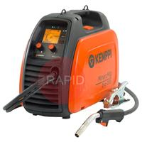 61008200 Kemppi MinarcMig 200 Evo Adaptive Mig Package, 230V CE. Includes MMG22 3M Gun, Earth Cable, 4.5M Gas Hose.