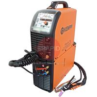 6162300W Kemppi Mastertig 2300 MLS ACX Water Cooled AC/DC Package. Includes ACX Function Panel, Mastercool 20, Earth Cable, Gas hose and Kemppi TTC 250W 4M Tig Torch.