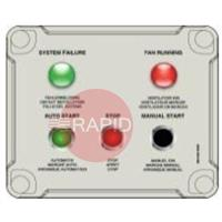 7900025000 Plymovent RC-SCP Remote Control System Control Panel