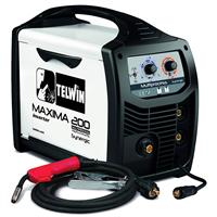816087 Telwin Maxima 200 Synergic MIG/TIG/MMA Multiprocess Welding Machine with 3m Mig Torch & Earth - 230V, 1ph