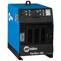 907534 Miller PipeWorx 400 Multiprocess Pulsed Mig Welder Power Source, 400 VAC, 3 Phase