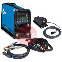 907686003APFP Miller Dynasty 210 DX AC/DC Tig Welder Package with CK TL26 4m Torch and Foot Pedal, 120 - 480v