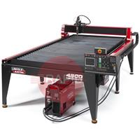 BK-LECS-125CE-4800 Lincoln Torchmate 4800 4ft x 8ft CNC Plasma Cutting Table with FlexCut 125 CE Plasma Cutter