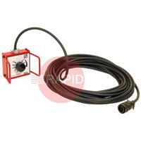 K10095-1-15M Lincoln Hand Remote Control Box with 15m Cable Lead