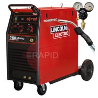 K14058-1P Lincoln Powertec 355C PRO Ready to Weld Package