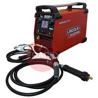 K14099-1P Lincoln Speedtec 200C Ready to Weld Mig Package, 230v