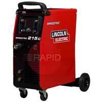 K14146-1 Lincoln Electric Speedtec 215C Multi Process Compact Inverter 110 / 230v 1 Phase