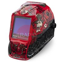 K3101-3-CE Lincoln Viking 3350 - Mojo Auto Darkening Welding Helmet, Shade 6 - 13, Class 1/1/1/1