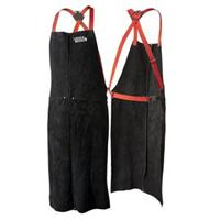 K3110-ALL-CE Lincoln Red Line Split Hide Leather Welding Apron
