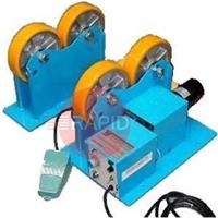 KR1000 Set 1000kg Welding Rotators. Includes Power, Idler Roll and Foot Pedal. 20mm to 800mm. Power Input 1 Phase 110/220V 50/60Hz