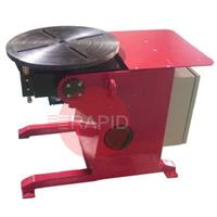 LPE0.25 Welding Positioner, 250kg Capacity, 500mm plate, 0 - 4rpm, 240v