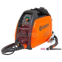 Minarctig200Evo Kemppi Minarctig Evo 200 Ready to Weld Package. Includes Tig Torch & Earth Cable. 230v CE