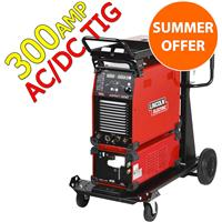 OFFER10 Save Over £3000.00 on Our Lincoln 300Amp AC/DC Water Cooled Tig Welder Package, Aspect 300 AC/DC, 400v 3ph