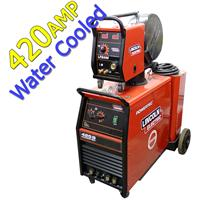 OFFER8 Ex Display Lincoln Powertec 425S Water Cooled Mig Welder Package, 5m Interconnection