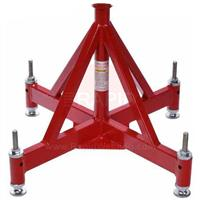 QPS 400 Quattro Large Vee Head Pipestand c/w level pads
