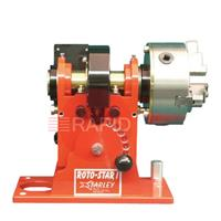ROTO-1 Jancy Roto-Star 1 Welding Positioner with 150mm Chuck. 0 to 15rpm. Horizontal weight capacity 50kg / Vertical weight capacity 100kg. Through spindle part capacity 38.1mm