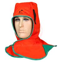 WEL23-6690 Weldas Orange Hood Flame Retardant