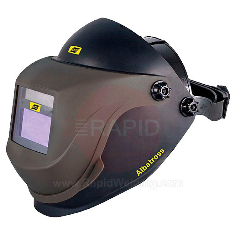 0700000319  ESAB Albatross 4000X Standard Flip-up Weld & Grind Helmet with Shade 9-13 Auto Darkening Filter